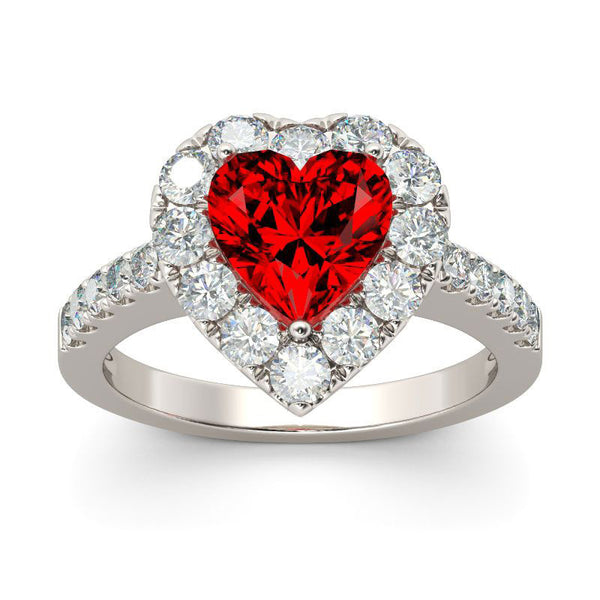 Beautiful Heart January Ring
