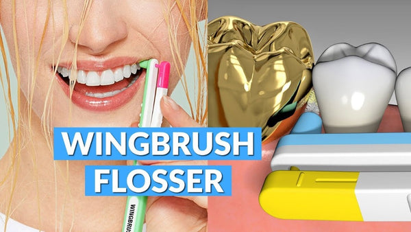The Wingbrush: Revolution of Interdental Cleaning Set