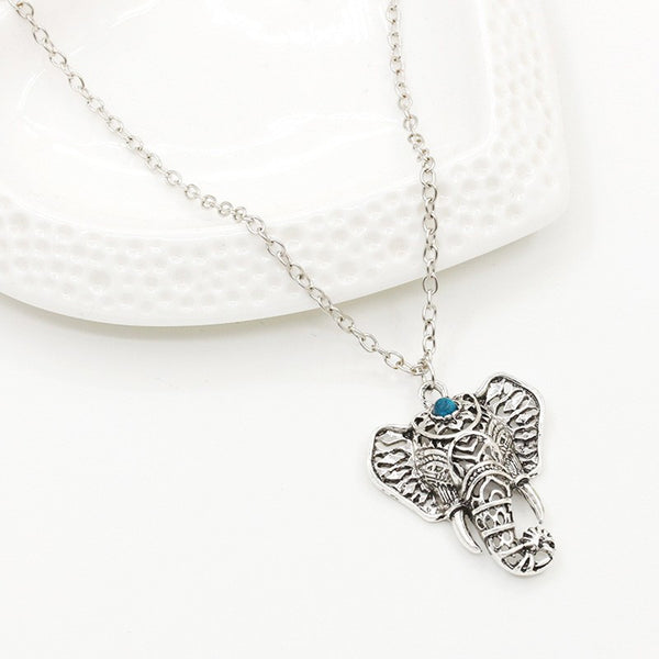 Asian Silver Elephant pendant