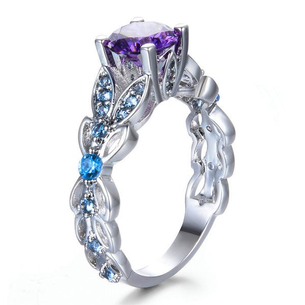 June Vine Birthstone Ring