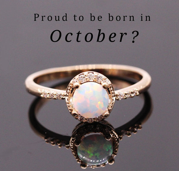 ring october birthstone rings twisted views pink more sterling band silver with opal