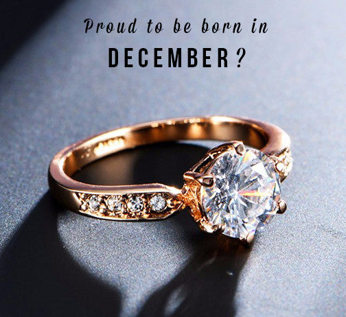 1.75ct Zircon December Birthstone Ring