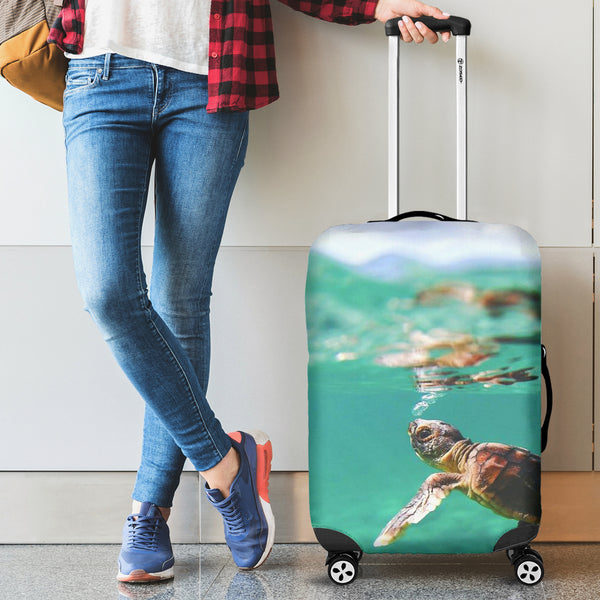Baby Turtle Luggage Cover