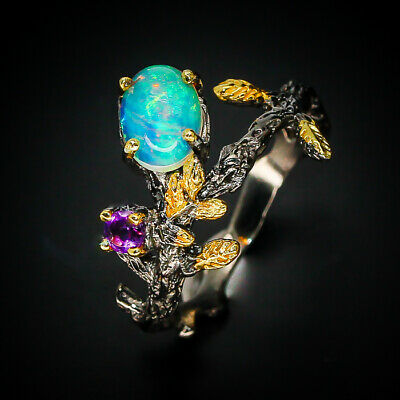 Enchanted Forest Opal Ring