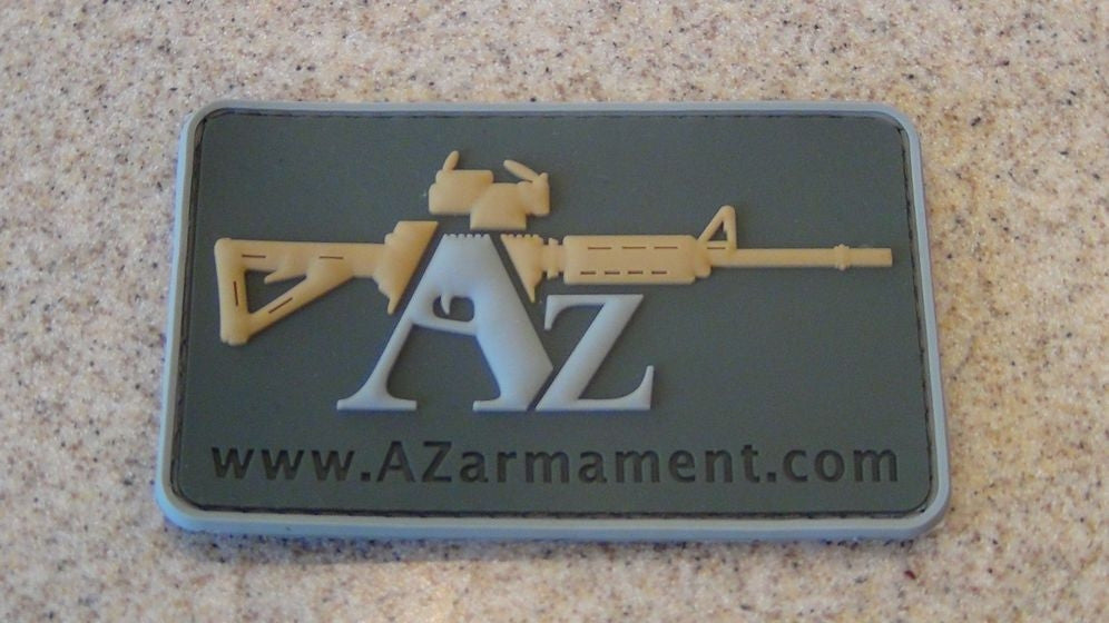 AZarmament Velcro 3D PVC Patch, Large