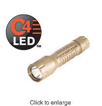 Streamlight PolyTac Tactical C4 LED Flashlight - Coyote Tan