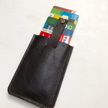 Wally Wallet With Bullet Detailing - Dark Choc