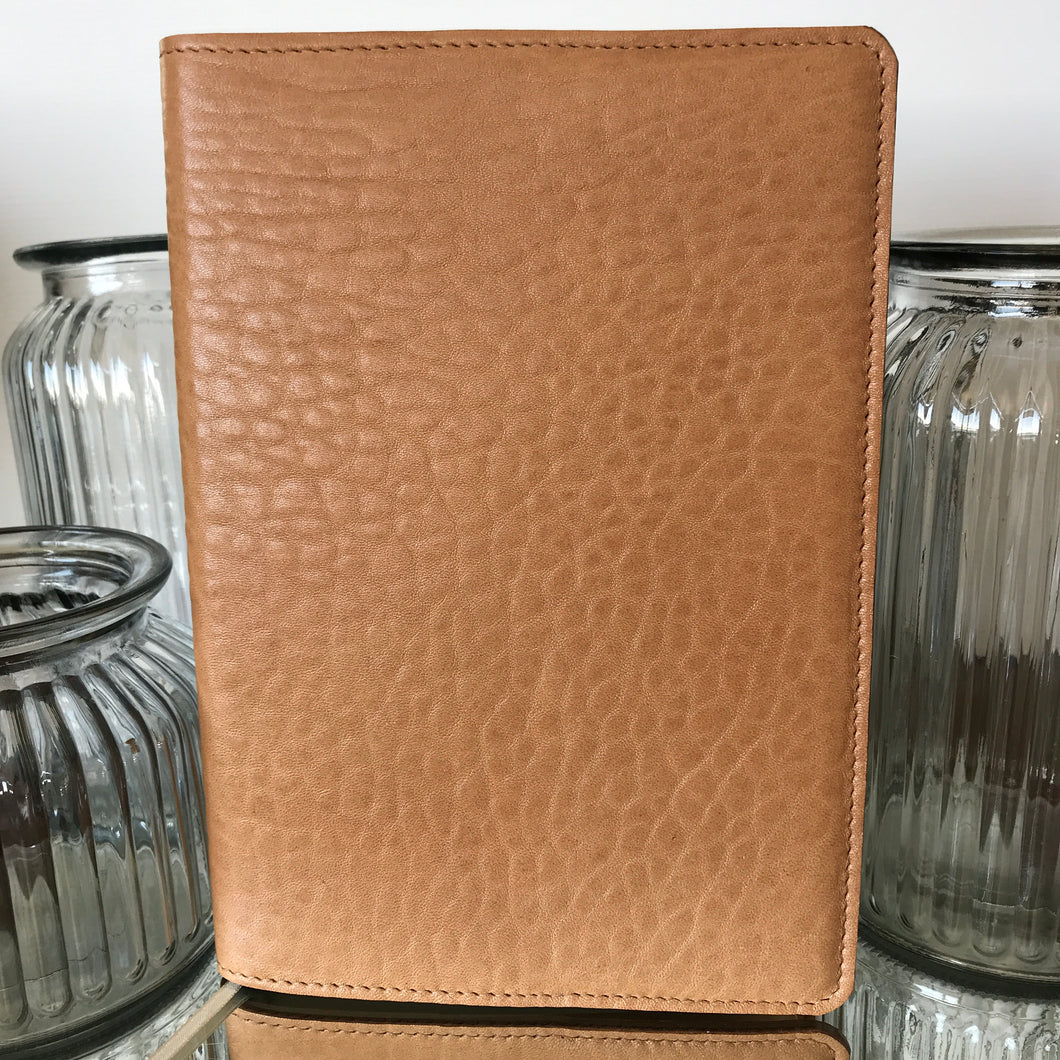 Jotta Journal - Tan Merino Leather