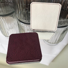 Coasters - Plum & White - Reversable