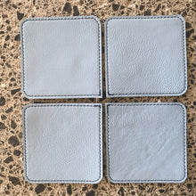 Coasters - Baby Blue and Navy - Reversable