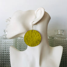 Chartreuse Disco Earings