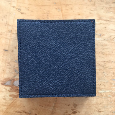 Coasters - Navy and Tan - Reversable