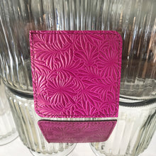Coasters - Fuchsia & Chocolate - Reversable