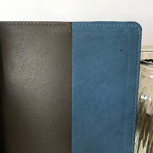 Denim Blue Merino Journal