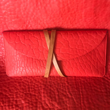 Greta Clutch - Corally Tangerine