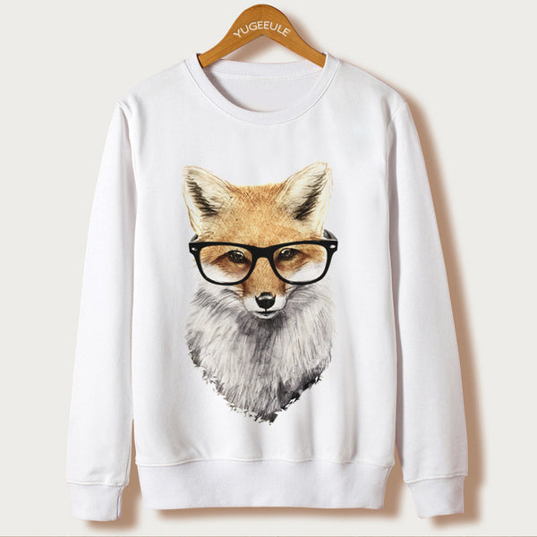 Hipster Animal Women's Cute Pullover Sweater- Multiple Choices