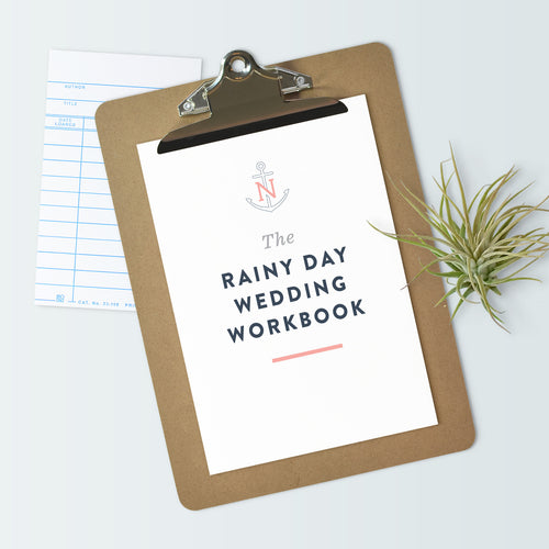 The Rainy Day Wedding Workbook