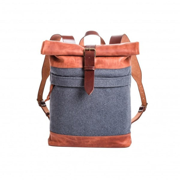 1970's Backpack (Orange/Grey) - Unique.