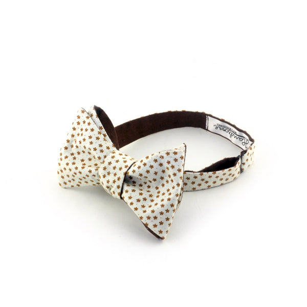 """Spring Star"" Reversible Bow Tie - Unique."
