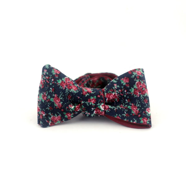 """Dark Rose"" Bow Tie - Unique."