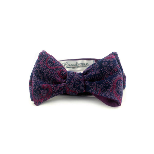 """Space Purple"" Bow Tie - Unique."