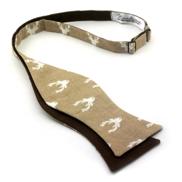 """Forest Deer"" Bow Tie - Unique."