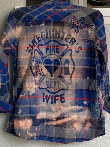 Medium Fire Wife Shadow Flannel
