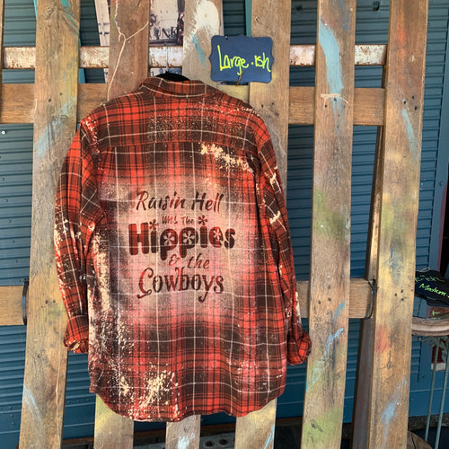 Large Cody Jinks Shadow Flannel