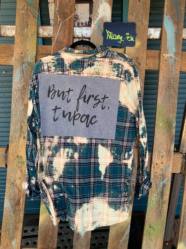 XXL Tupac Patch Flannel