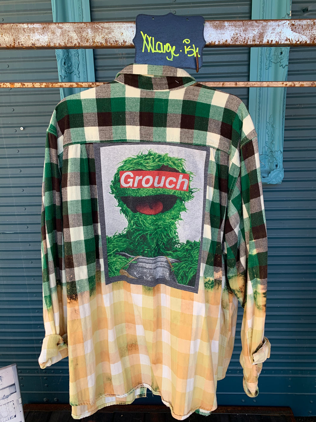 XXL Grouch Patch Flannel