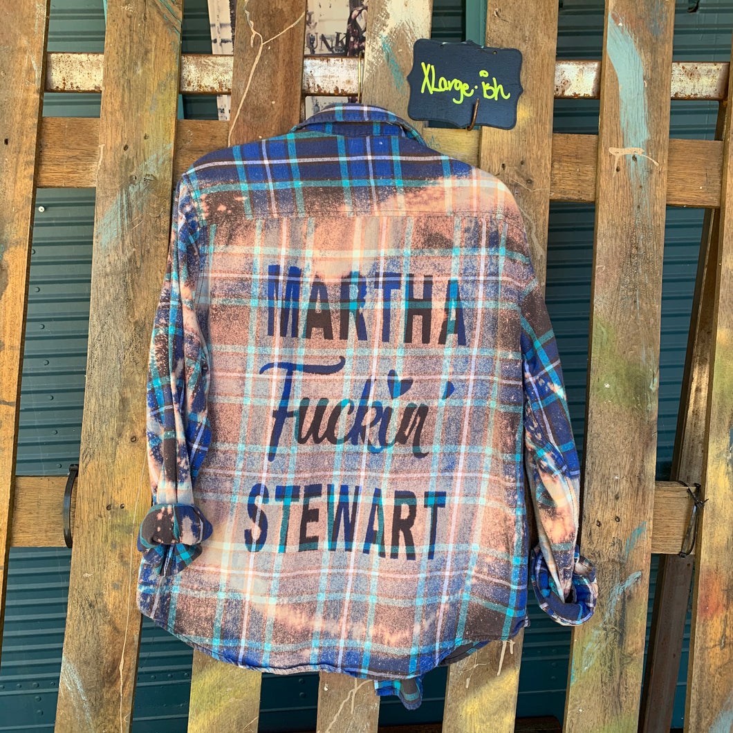 XLarge Martha Stewart Shadow Flannel