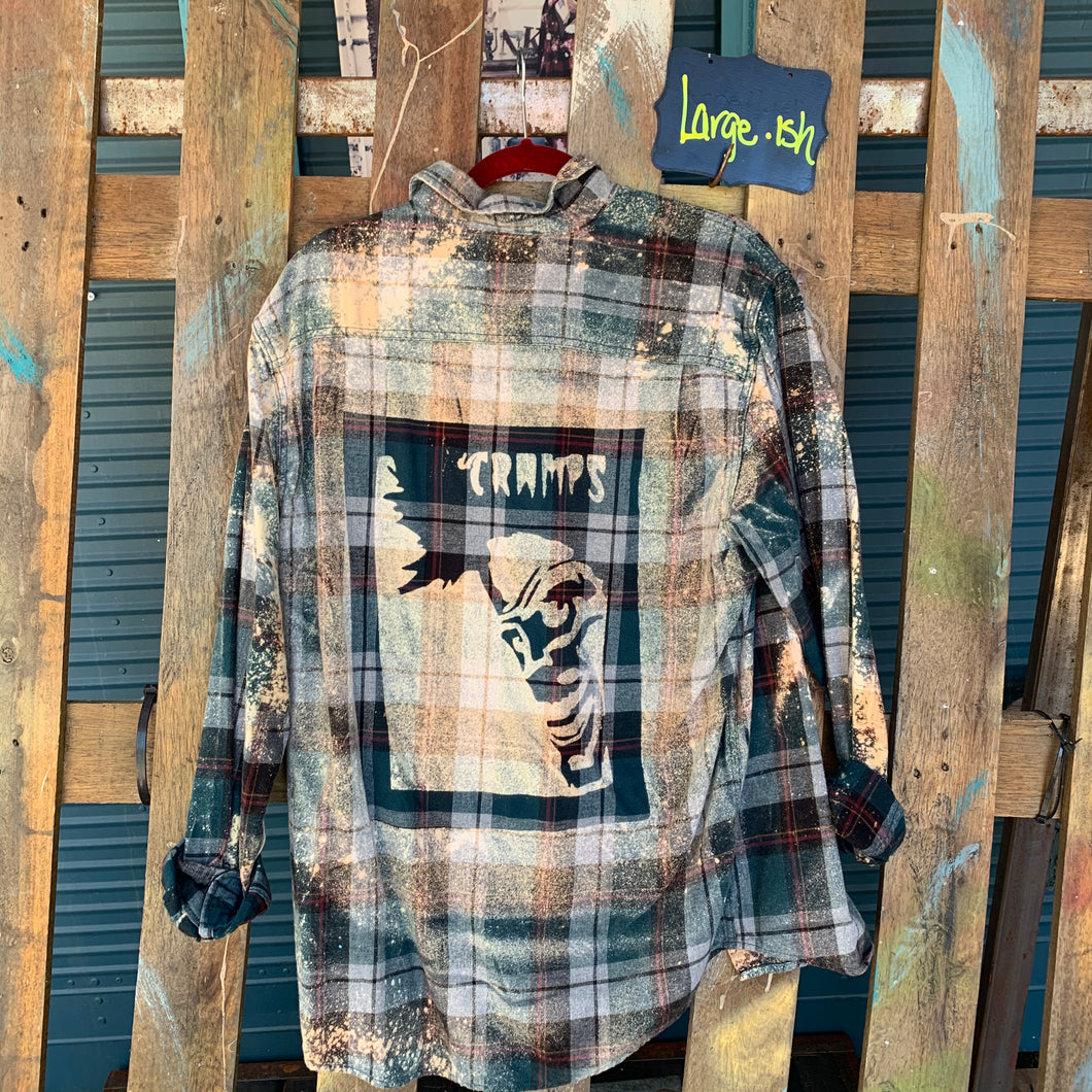 Large Cramps Shadow Flannel