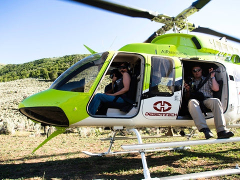 SHOOT IT LIVE Event Pre-Registered Helicopter Ride