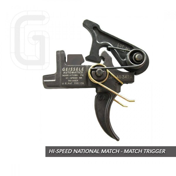 Geissele Hi-Speed National Match- Match Rifle Trigger
