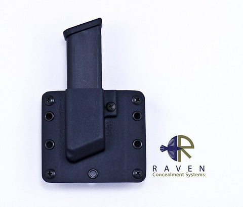 Raven Concealment Single Modular Pistol Mag Carrier (Wolf Grey)