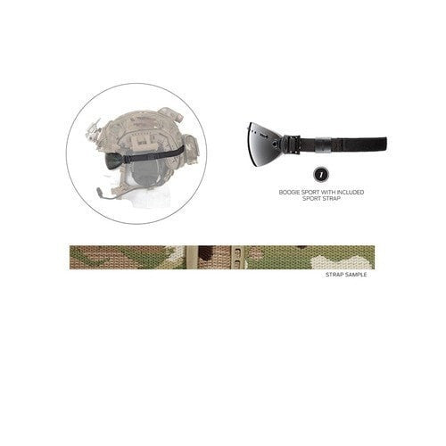 Smith Optics Boogie Sport 15mm Strap Camo