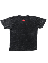 Acid Washed ETN Slogan T'Shirt