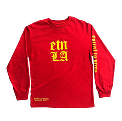 Red Logo Long Sleeve