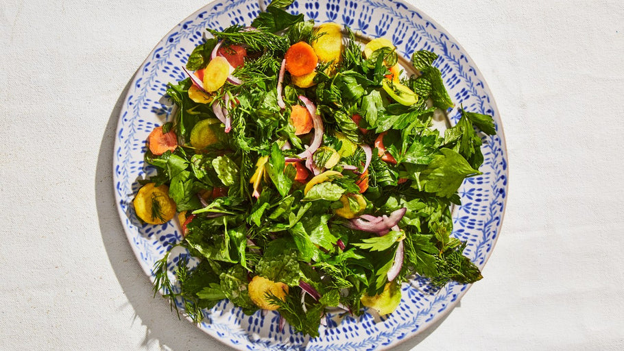 Weeky recipe: Citrus Herb Salad