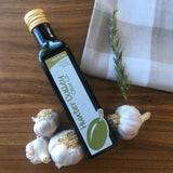 Garlic and herb oil