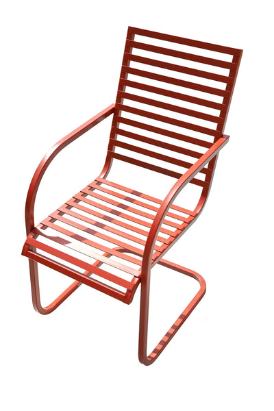 Square Top Retro Spring Rocking Chair