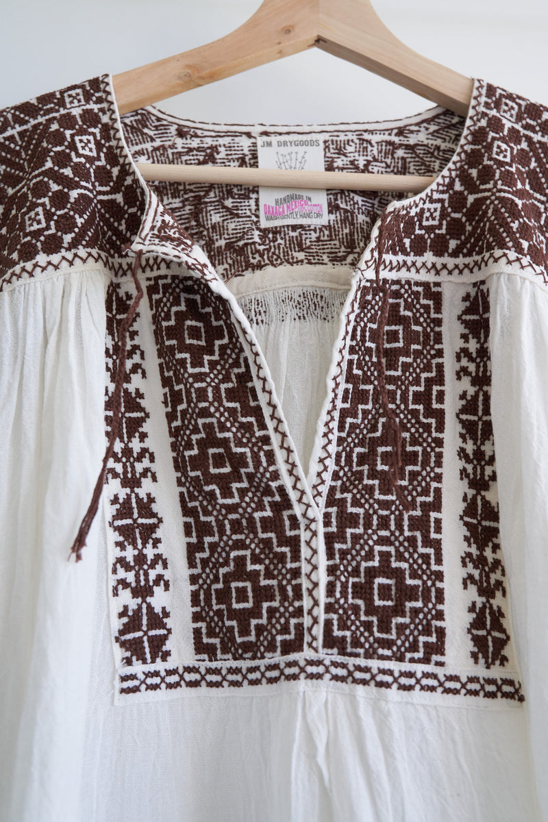 San Vicente Blouse (Color Chocolate)