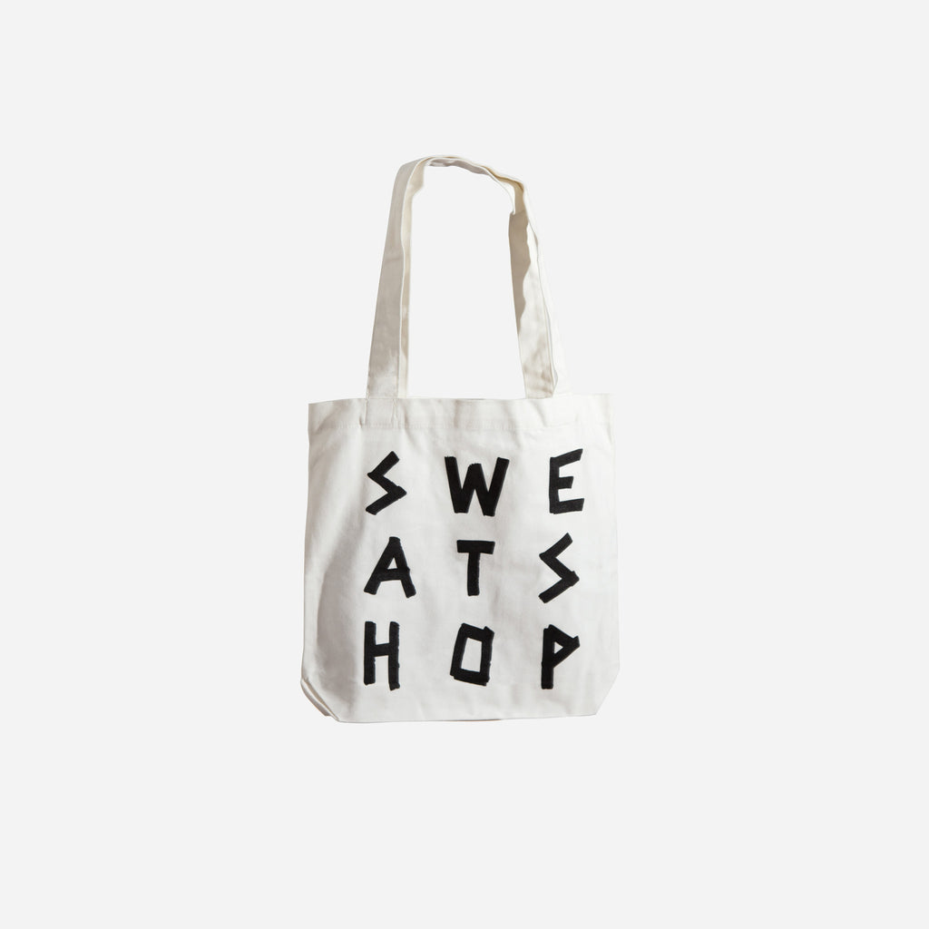 Sweatshop White Tote