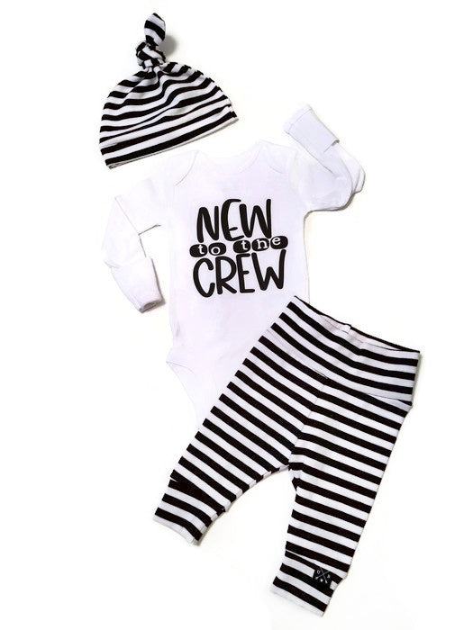 Bringing Home Baby - New To The Crew - Urban Baby Apparel