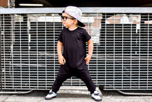 Urban Romper - Basic Black Bamboo - Urban Baby Apparel