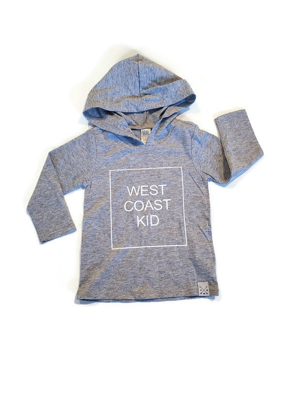 Hooded TShirt - West Coast Kid - Urban Baby Apparel