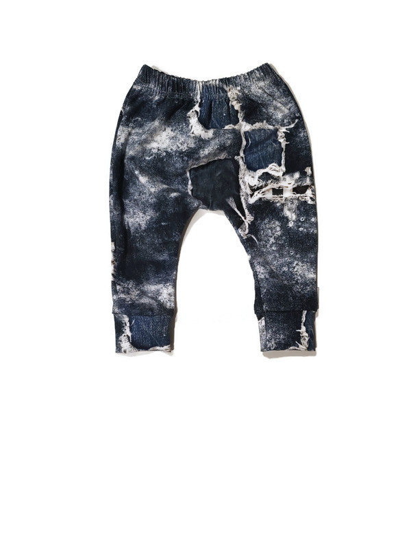 Harem Joggers - Distressed - Urban Baby Apparel