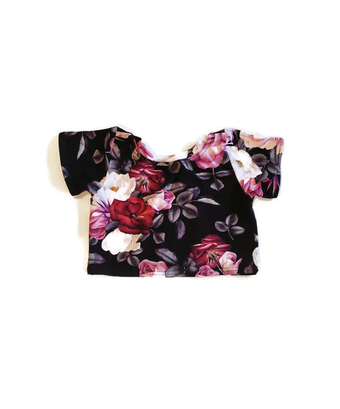 Boxy Bamboo Top - Bella - Urban Baby Apparel