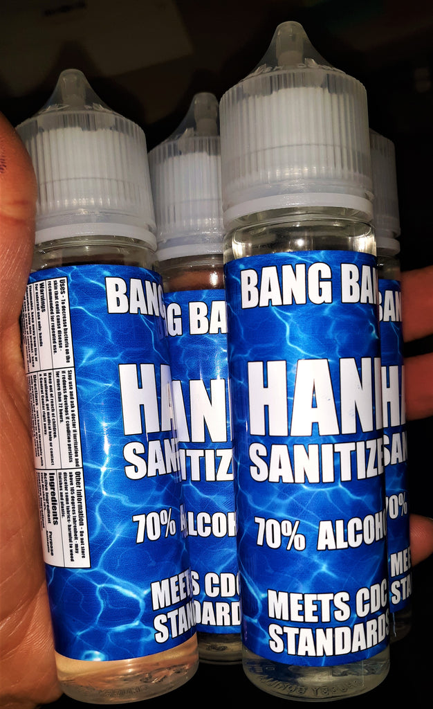 BANG BANG HAND SANITIZER - Bang Bang Vapors, LLC