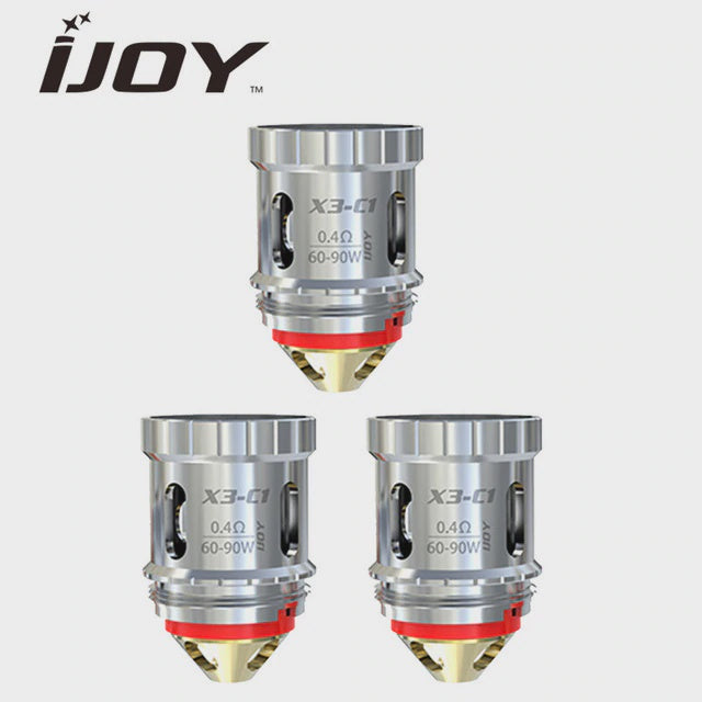 iJoy Captain X3S Sub-Ohm Tank COILS - Bang Bang Vapes & Smoke Shop